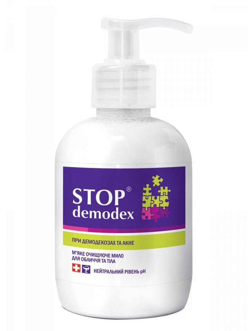 Mydło Stop Demodex, Demodekoza, Nużyca, 270 ml