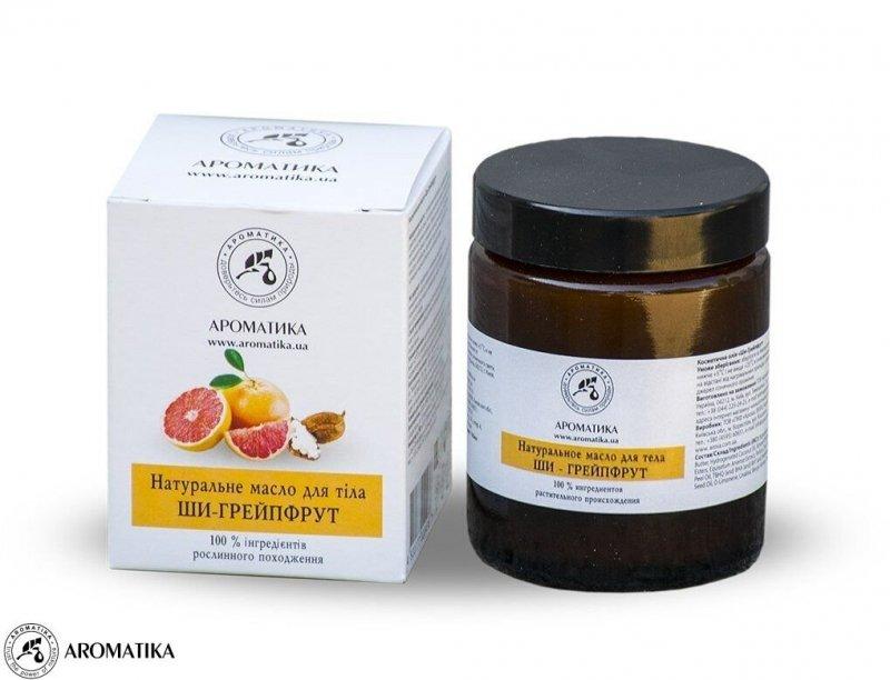 Masło do Ciała Shea i Grejpfrut, Aromatika, 100ml