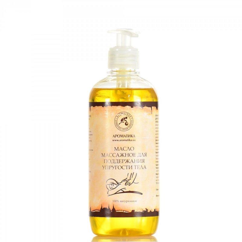 Olej do Masażu Ujędrniającego, 100% Naturalny, Aromatika, 500ml