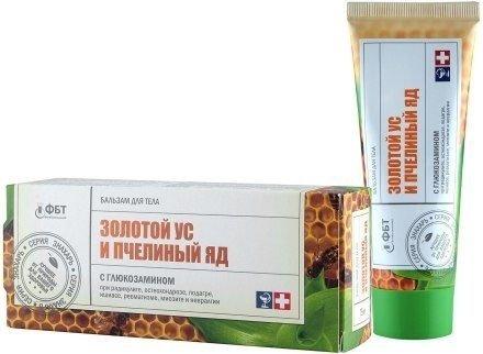 Balsam do Ciała Sabelnik, Złoty Wąs i Jad Pszczeli, 75 ml
