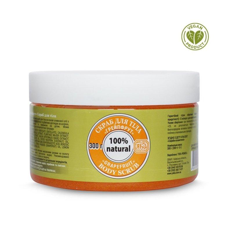 Peeling do Ciała Cukrowy Grejpfrutowy, 100% Naturalny, Yaka