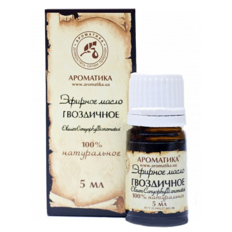 Olejek Goździkowy, 100% Naturalny, Aromatika, 5ml
