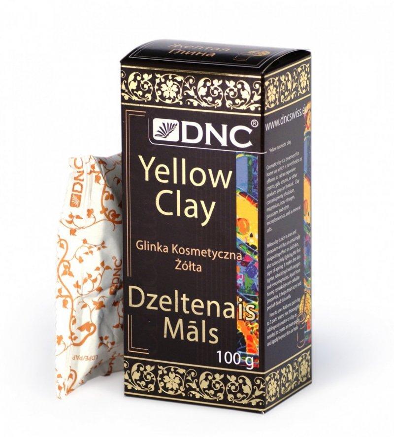 Glinka Żółta, 100% Naturalna 100 g, DNC