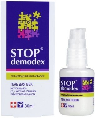 Żel do Powiek Stop Demodex, 30 ml