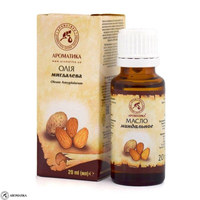 Olej Migdałowy, 100% Naturalny, Aromatika, 20ml