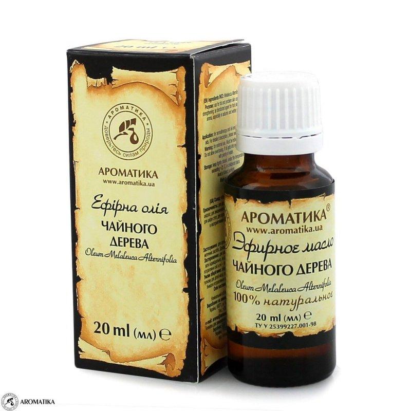 Olejek z Drzewa Herbacianego, 100% Naturalny, Aromatika, 20ml