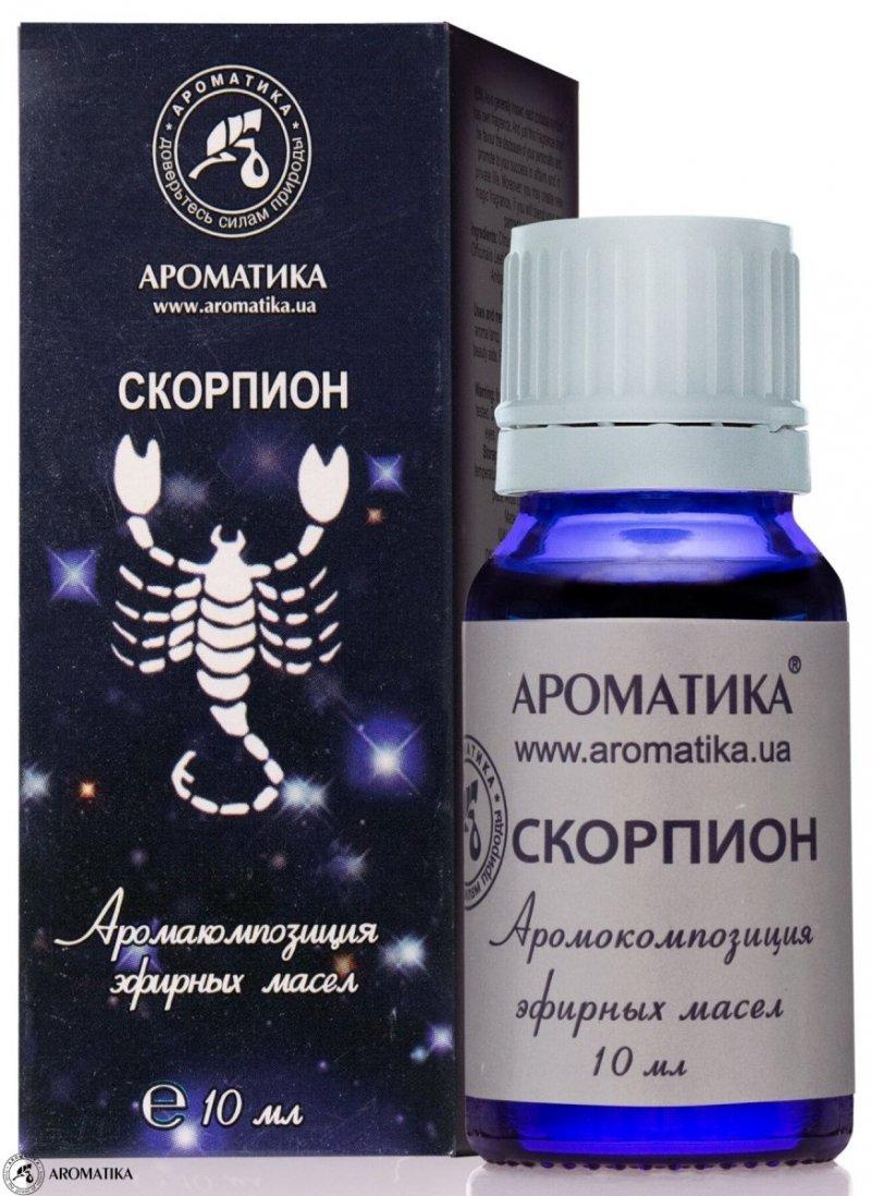 Skorpion Kompozycja Olejków Aromaterapeutyczna dla Znaku Zodiaku, 100% Naturalna