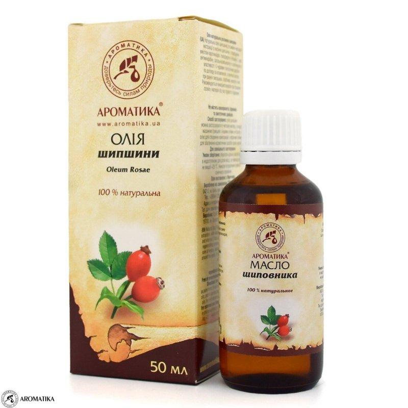 Olej z Owoców Dzikiej Róży, Aromatika, 50ml