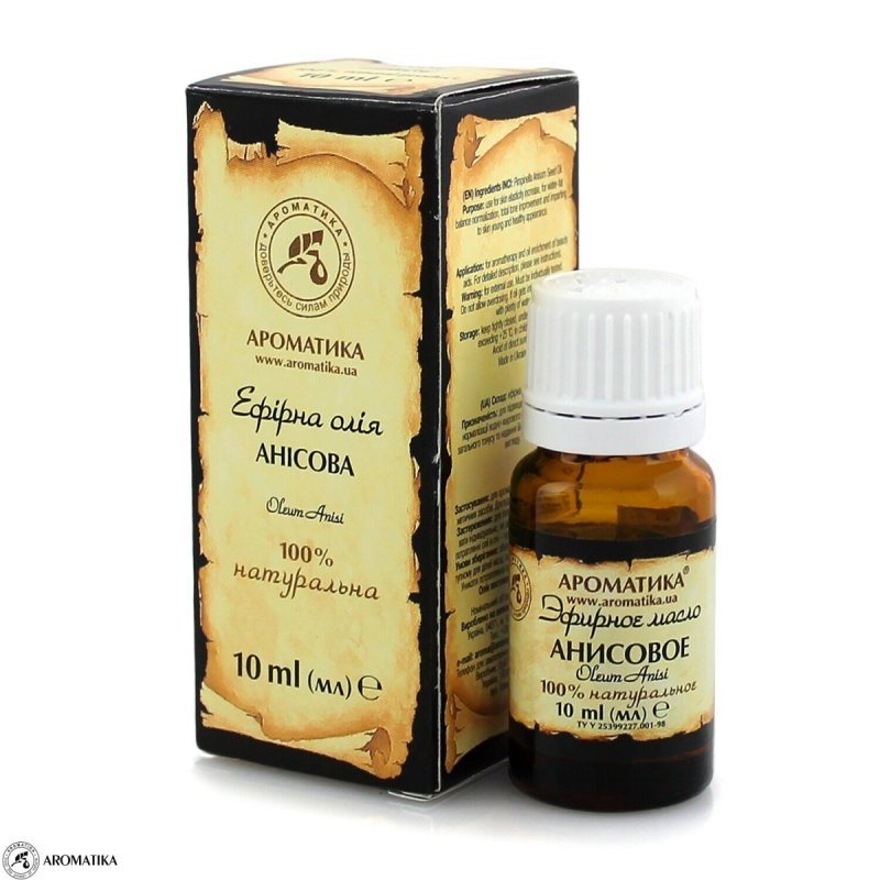 Olejek Anyżowy, 100% Naturalny, Aromatika, 10ml