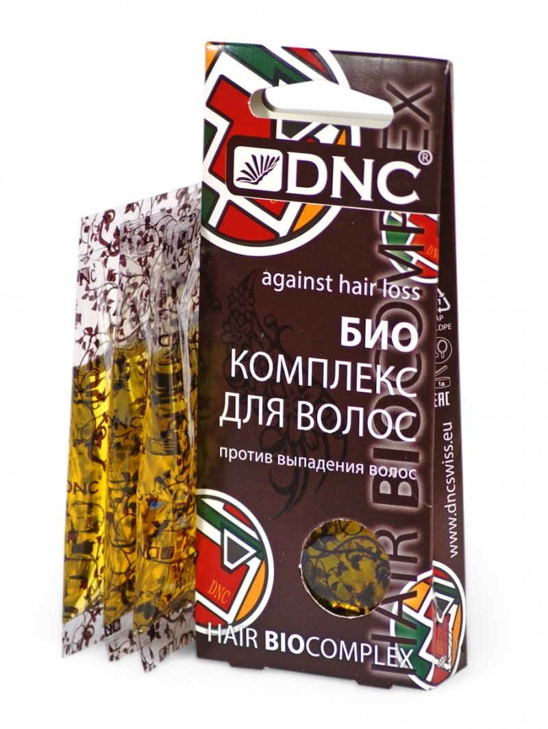Bioaktywny Kompleks przeciw Wypadaniu Włosów, DNC, 3x15 ml