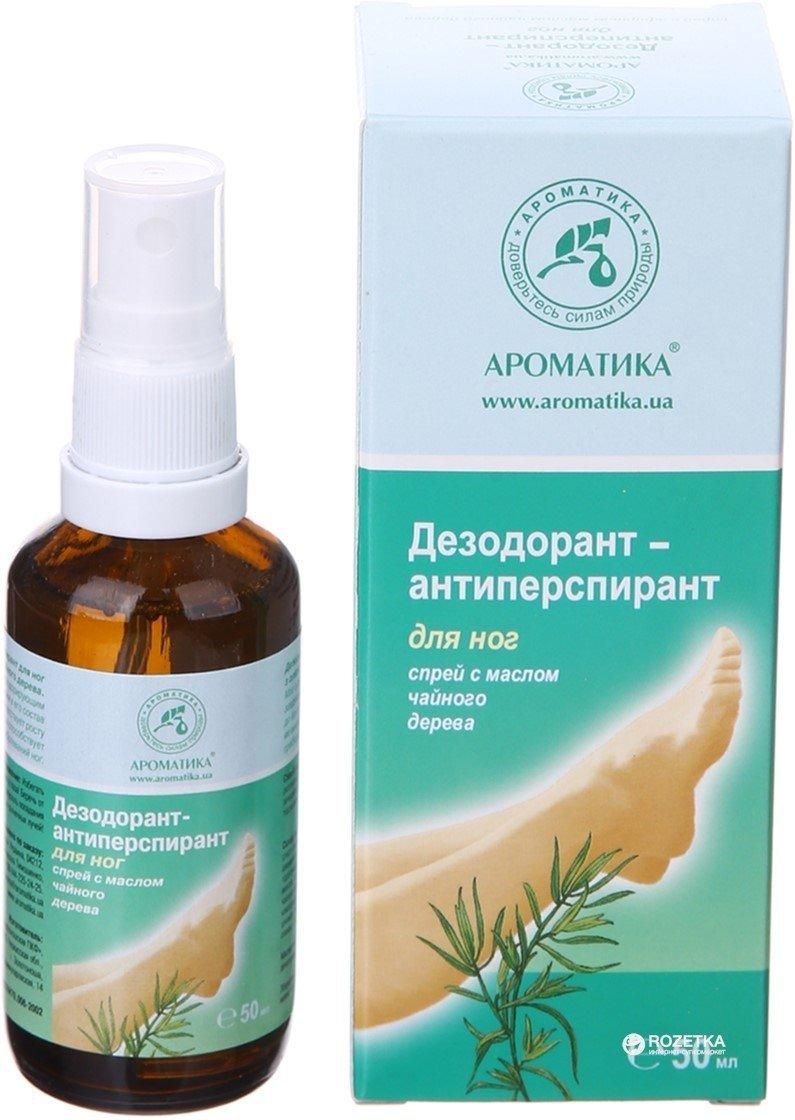 Dezodorant Antyperspirant do Stóp Antybakteryjny, Aromatika