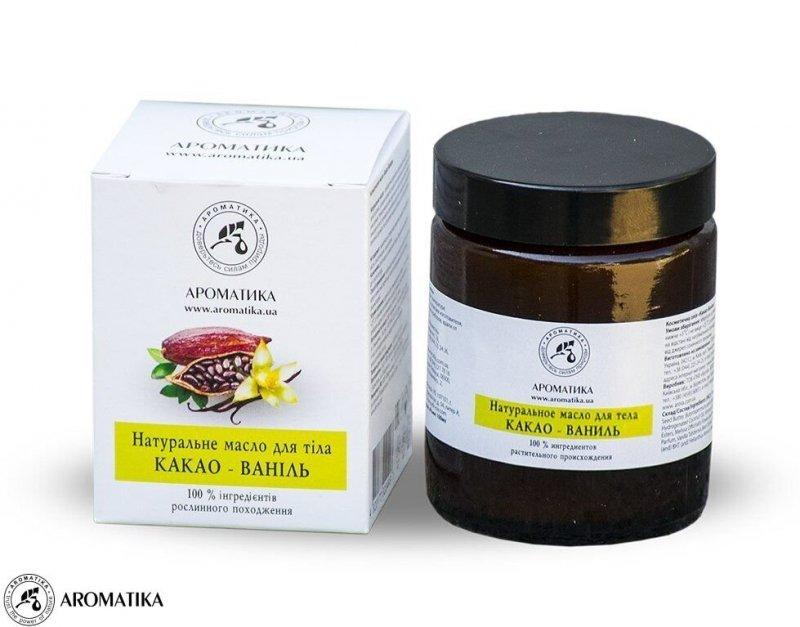 Masło do Ciała Kakao i Wanilia, Aromatika, 100ml