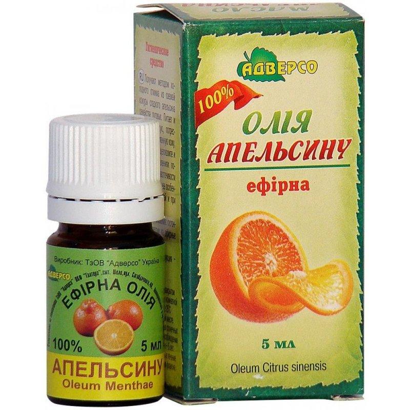 Olejek Pomarańczowy, Adverso, 5ml