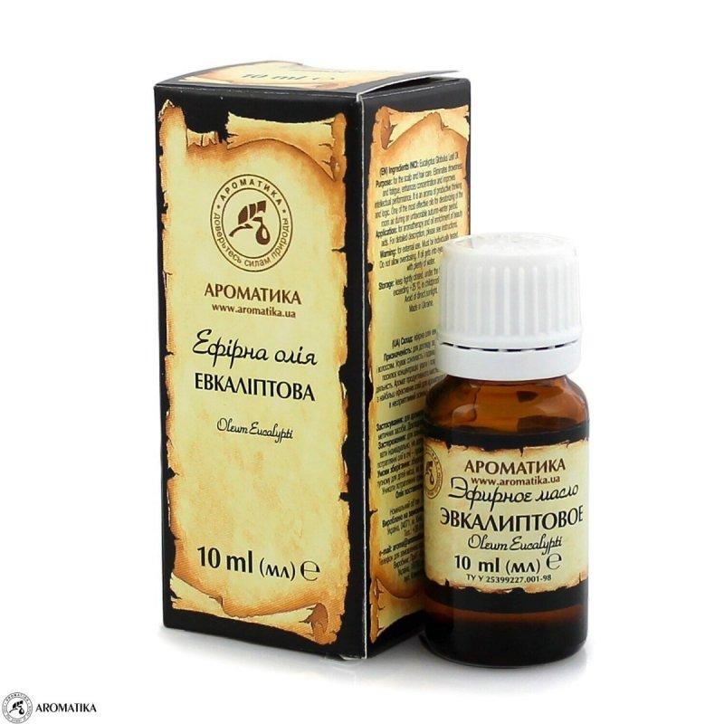 Olejek Eukaliptusowy, 100% Naturalny, Aromatika, 10ml