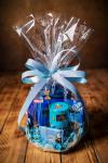 Niebieski zestaw prezentowy