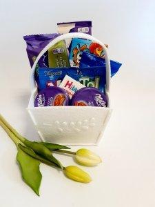 Zestaw słodyczy dla chłopca prezent komunia