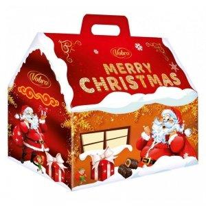 Vobro świąteczne cukierki w czekoladzie marcepanowe z nadzieniem 200g