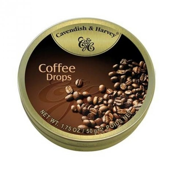 Cavendish & Harvey Coffee Deluxe Drops Landrynki o smaku Kawowym 50g