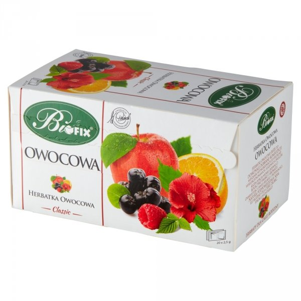 BIFIX Classic Herbatka Owocowa 25 torebek 50g
