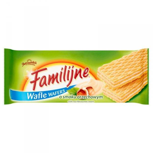 Familijne Wafle o smaku orzechowym 180 g