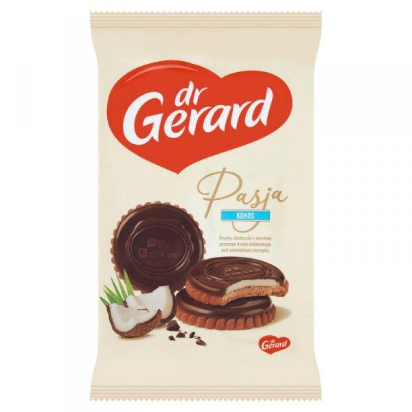 dr Gerard Pasja Herbatniki z kremem kokosowym i czekoladą 170 g