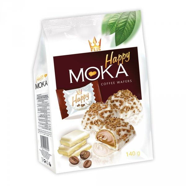 HAPPY MOKA COFFEE KAWOWE FLIS 140G