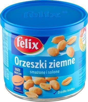 Orzeszki Felix ziemne prażone 140 g puszka