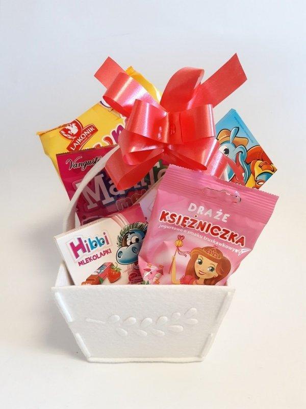 Zestaw słodyczy dla dziewczynki