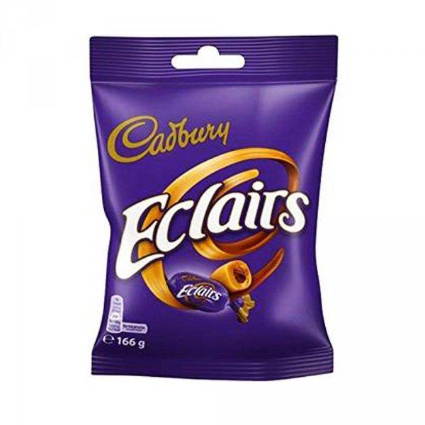 Cadbury cukierki karmelowe Eclairs 166g
