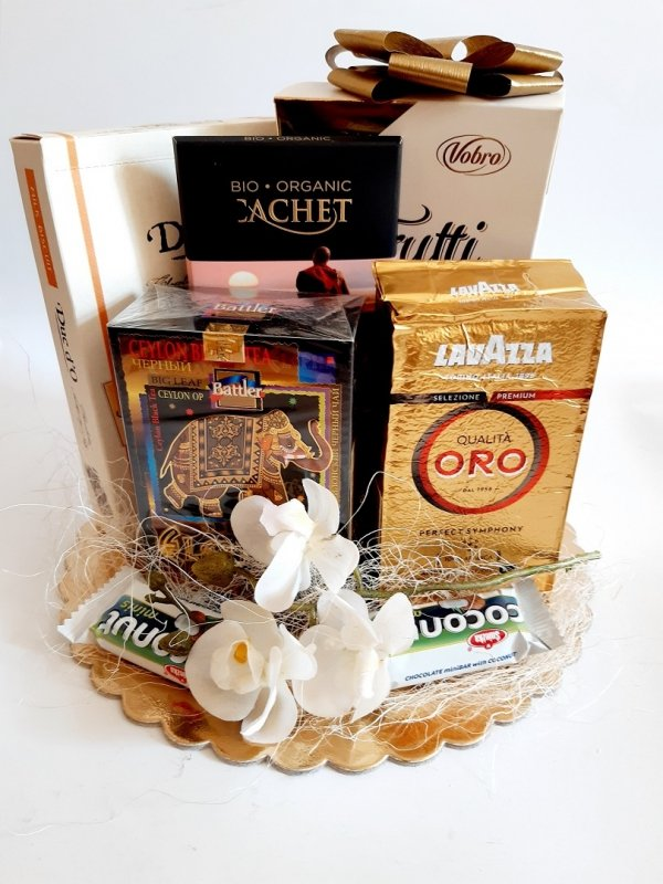 Urodziny zestaw prezentowy słodyczy premium