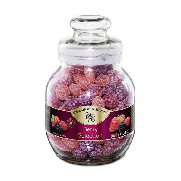 Landrynki Cavendish & Harvey Berry Candys o smaku owoców leśnych 966g