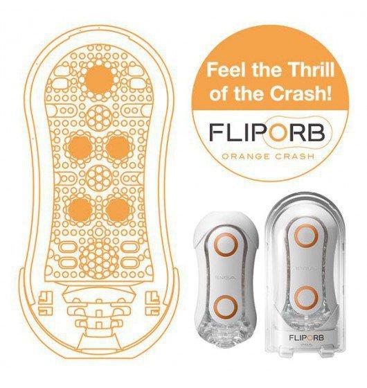 Tenga Flip Orb Orange Crush