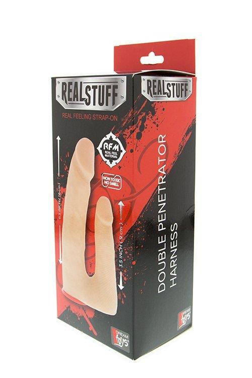 Proteza-REALSTUFF DOUBLE PENETRATOR HARNESS