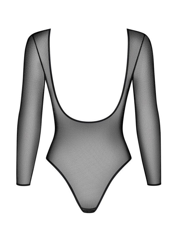 Bielizna-B123 body czarne L/XL
