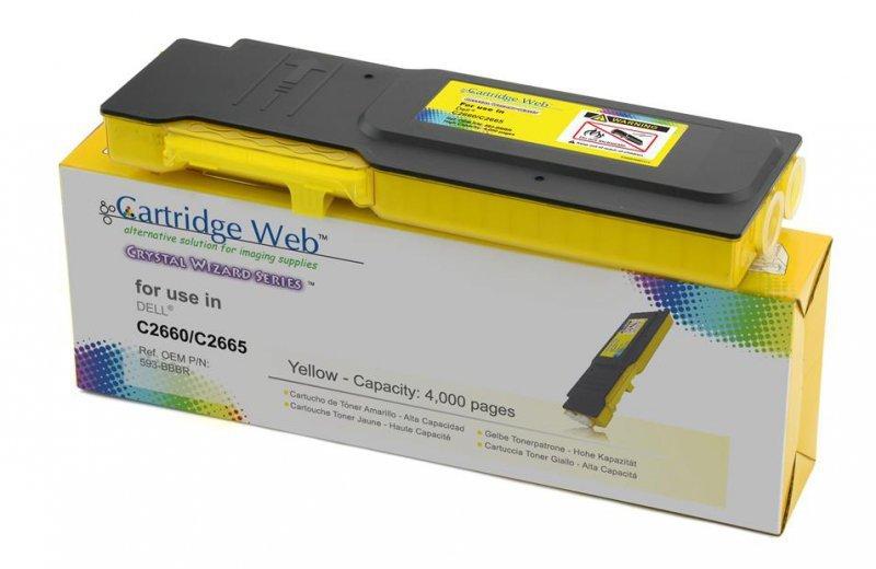 Toner Cartridge Web Yellow Dell 2660 zamiennik 593-BBBR