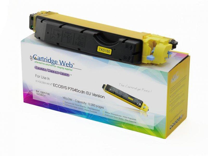 Toner Cartridge Web Yellow Kyocera TK5160 zamiennik TK-5160Y