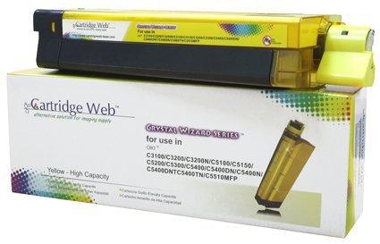 Toner Cartridge Web Yellow OKI C3100/C5100/C5450 zamiennik 42804513/42127405/42127454