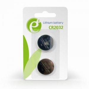 Zestaw baterii do płyt głównych ENERGENIE EG-BA-CR2032-01 (Li; x 2)