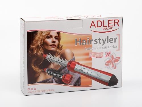 Lokówka Adler AD 2013 (550W; kolor czerwony)