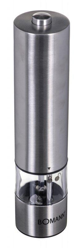 Młynek do pieprzu Boman PSM 437 CB (kolor srebrny)