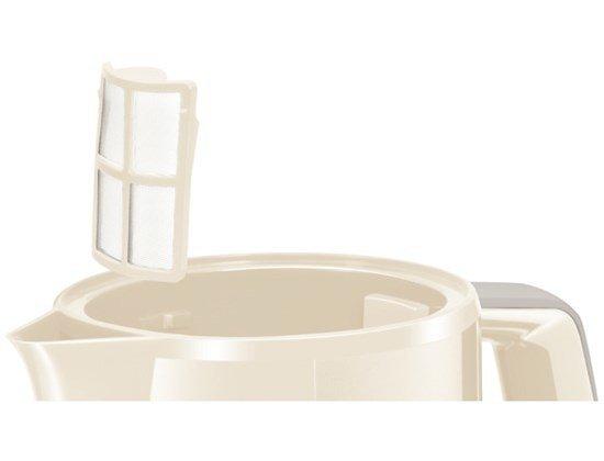 Czajnik elektryczny BOSCH TWK 3A017 (2400W 1.7l; kolor beżowy)