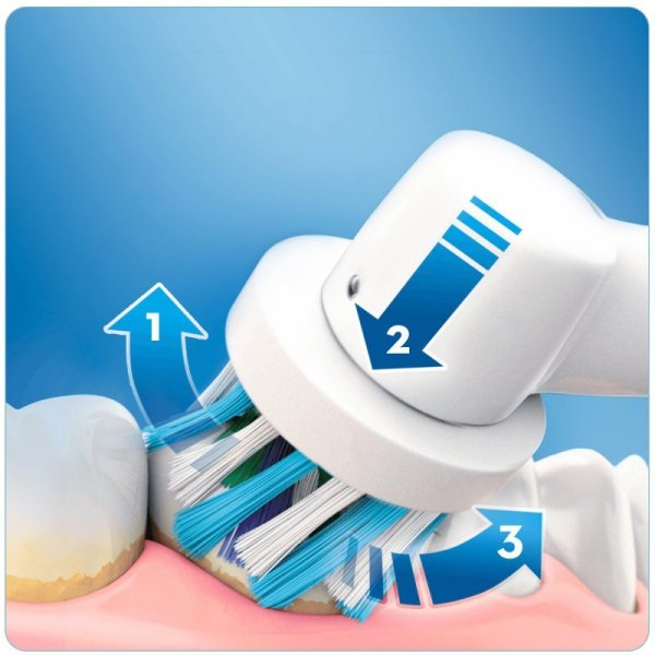 Szczoteczka do zębów Braun Pro 2900 Cross Action (kolor czarny)
