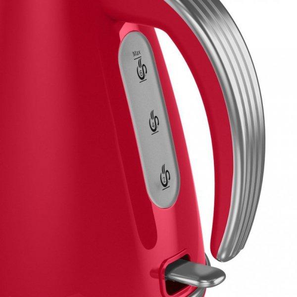 Czajnik elektryczny Swan RETRO SK19020RN (3000W 1.5l; kolor czerwony)