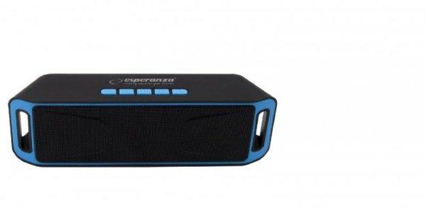 Głośniki bluetooth Esperanza FOLK EP126KB (kolor czarno-niebieski)