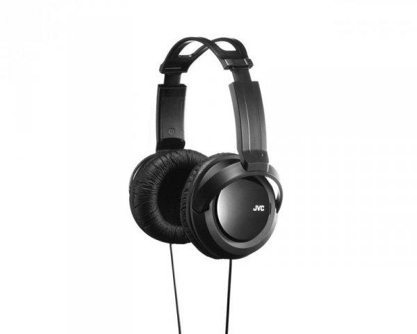 Słuchawki JVC HAR-X330E nauszne, czarne