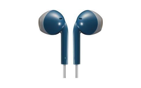 Słuchawki z mikrofonem JVC HAF-19MAHE (douszne; TAK; kolor niebieski