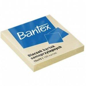 Bloczek samoprzylepny 75x75 100k 400086384 BANTEX