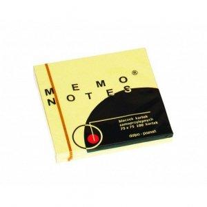 Notes MEMO 75*75 żółty *DALPO