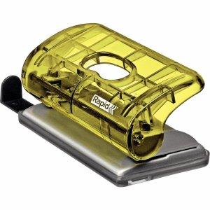 Dziurkacz mini RAPID COLOURICE FC5 żółty 5001329