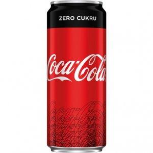 Napój COCA-COLA ZERO 0,33L puszka
